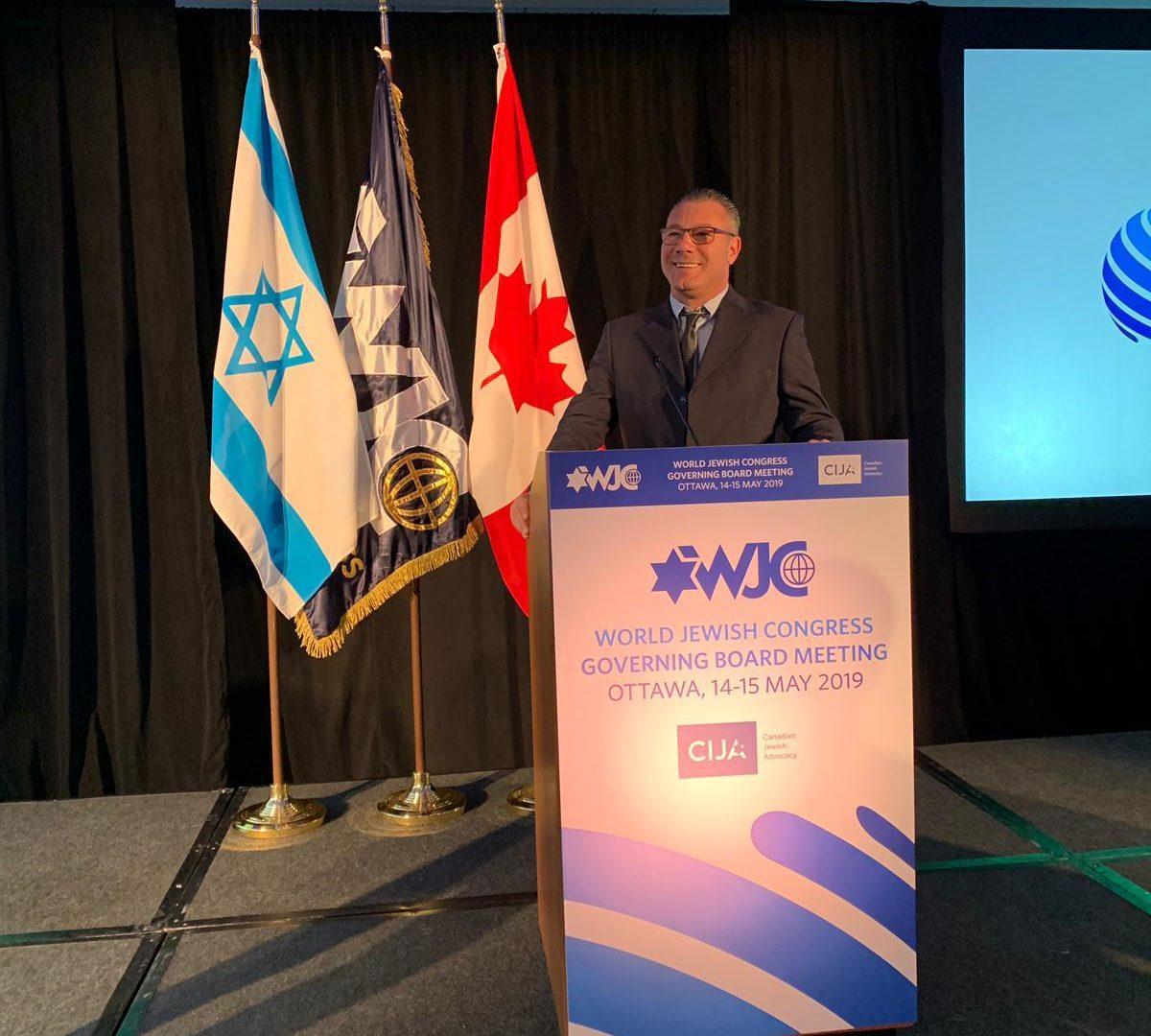 """מנכ""""ל העירייה ליאור טרגן בכנס של הקונגרס היהודי בקנדה"""