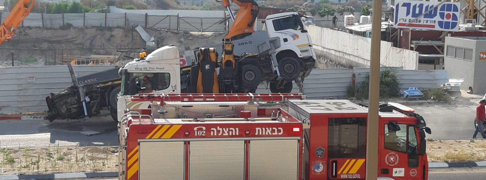 הרוג בתאונת עבודה באתר בניה בקריית מוצקין