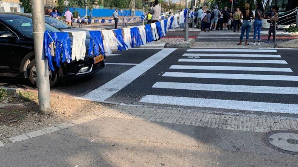 ציר ההסתדרות חסום עקב הפגנת בני העדה האתיופית