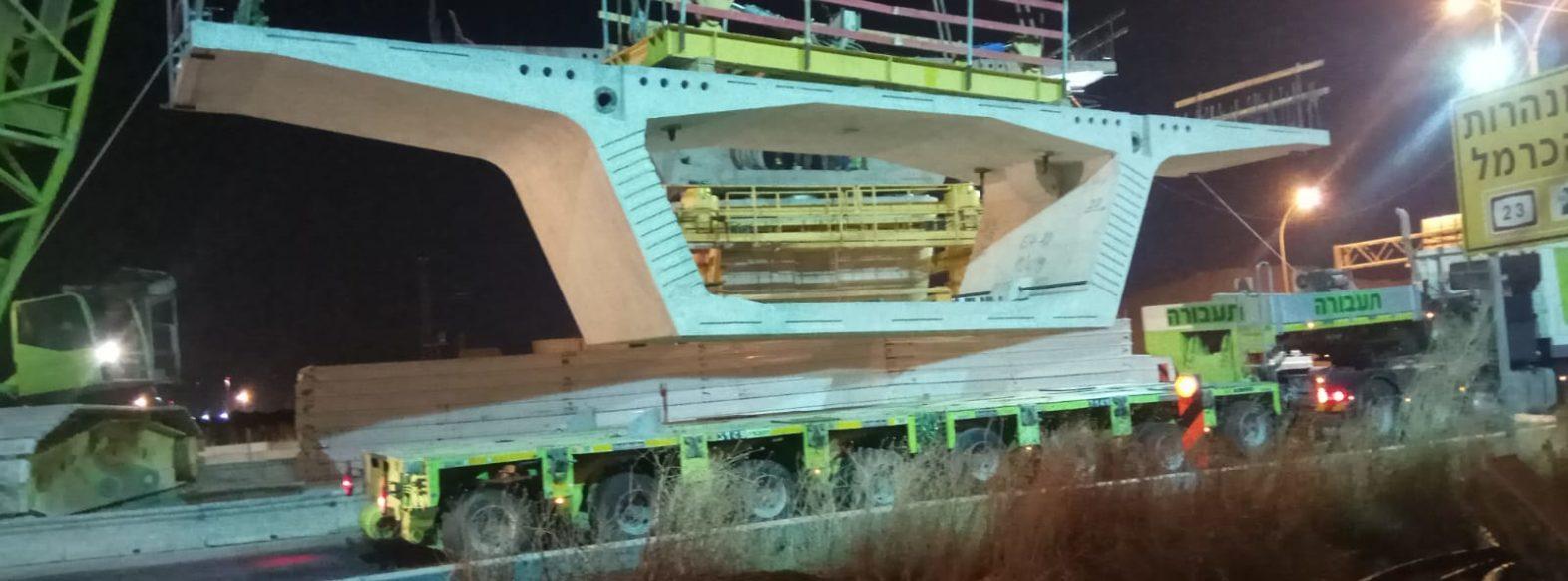 כביש 22 ייסגר לתנועה עקב הקמת גשר