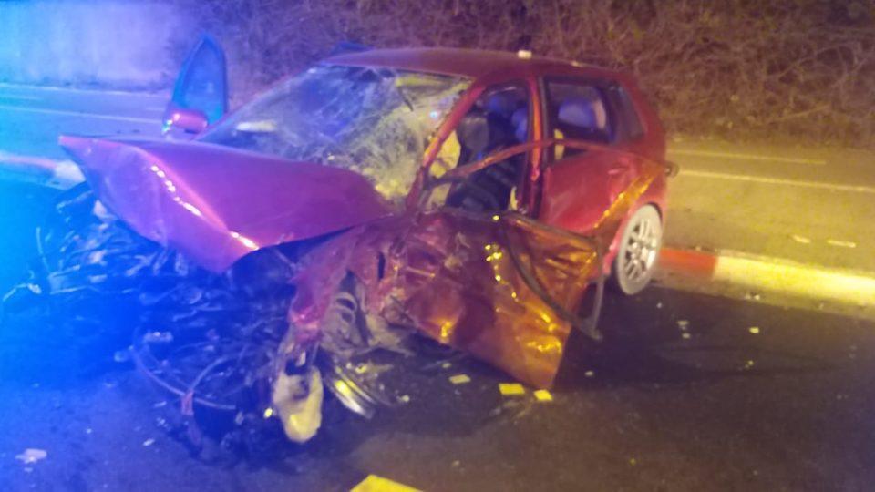 תאונת דרכים בקריית ביאליק, ארבעה פצועים פונו לבית החולים