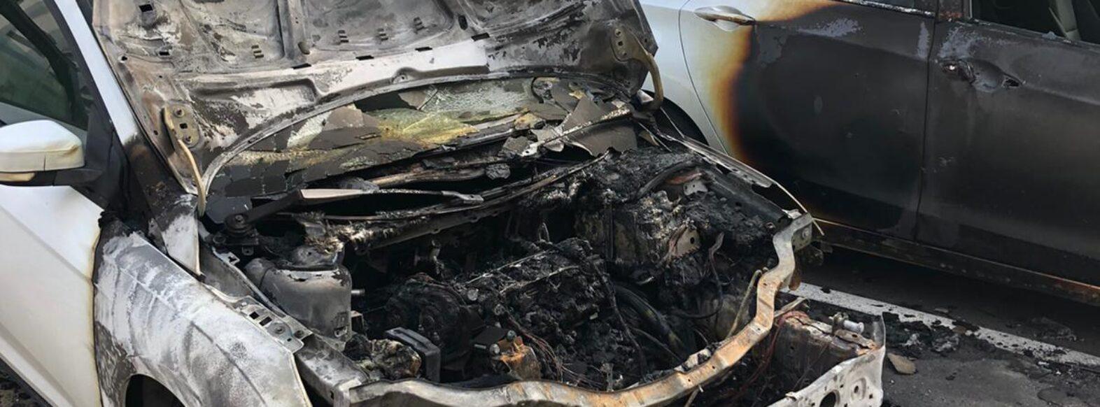 הצתת רכב בקריית מוצקין ככל הנראה על רקע משפחתי
