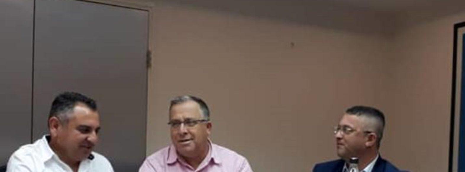 מועצת הכבלים והלוויין נפרדה מראש עיריית קריית ביאליק