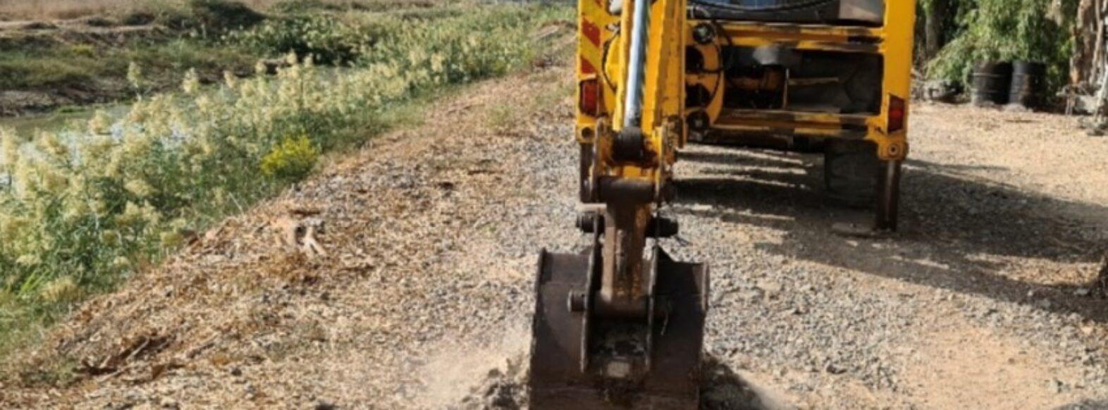 החלו עבודות ההכנה לסלילת מקטע האחרון בטיילת שמעון פרס (נחל גדורה)
