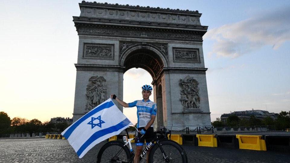 """נכדו של ראש העיר השני של קריית ביאליק, דני זק ז""""ל,  הוא הישראלי הראשון שסיים את הטור דה פראנס"""